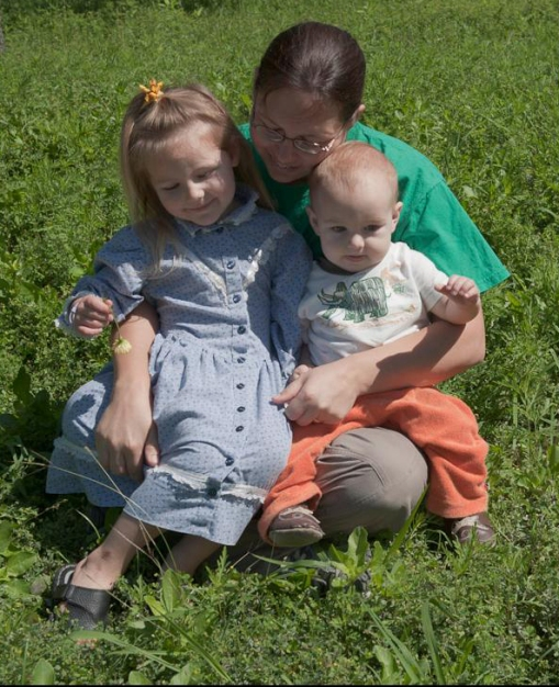 Jen, Eliana and David - 5-18-09